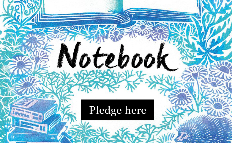 Notebook - Pledge here